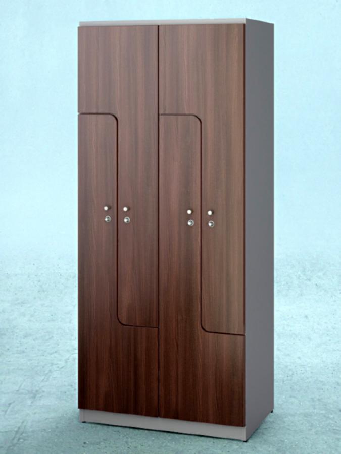 Szafa L4 DPM_drzwi R 5052L_korpus RAL 7040_mała