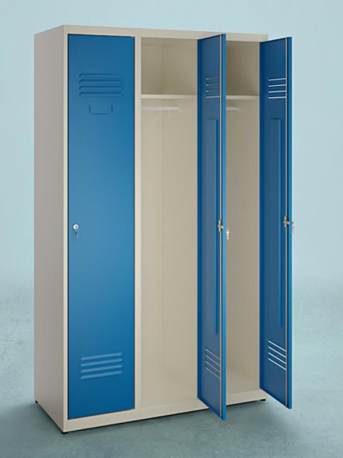 Szafa S-120_3D_drzwi RAL 5010_korpus RAL 1015_mała
