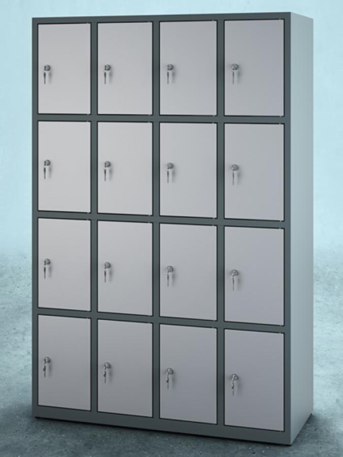 Szafa S16_30 _ korpus RAL 7012 _ drzwi 7035_mała