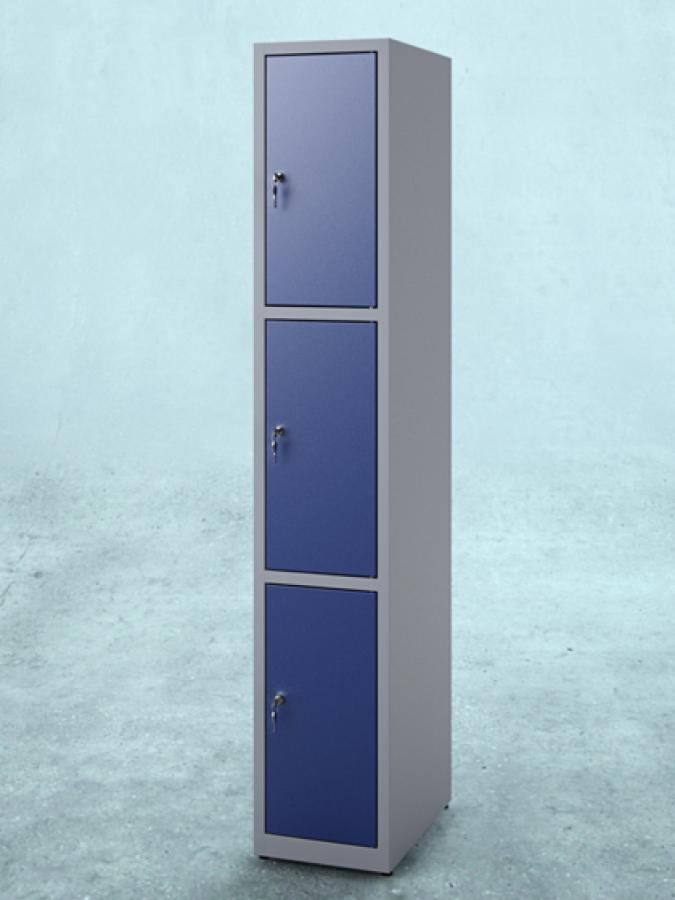 Szafa S3_30 _ drzwi RAL 5010 _ korpus RAL 7035_mała