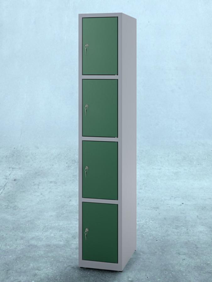 Szafa S4_30 _ drzwi RAL 6005 _ korpus RAL 7035_mała
