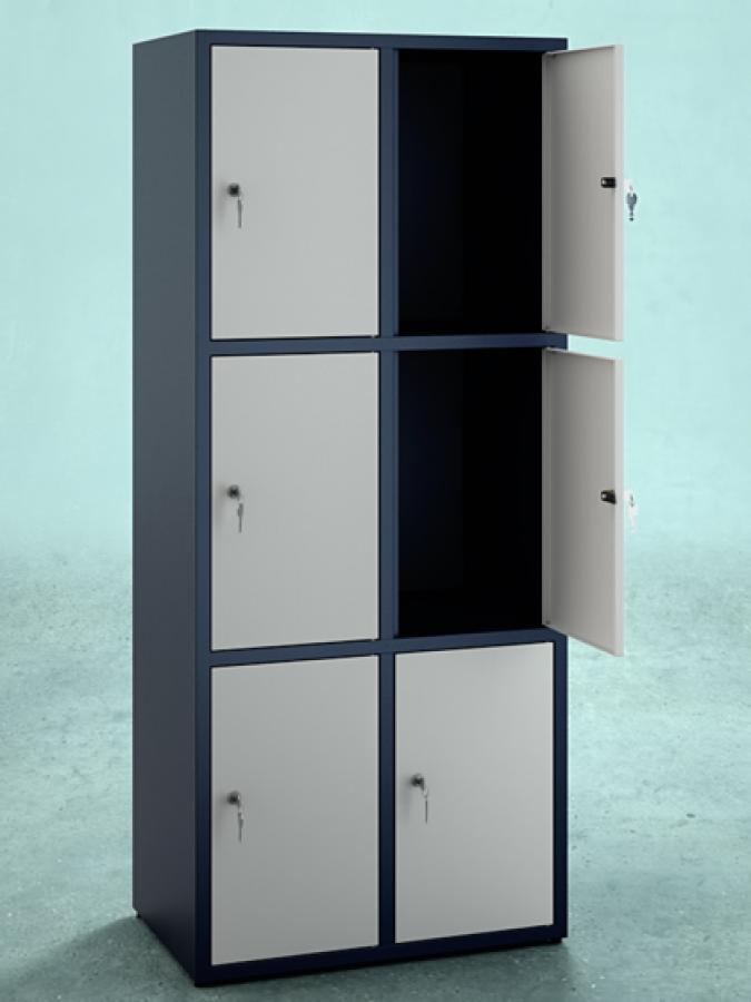 Szafa S6_40 _ korpus RAL 9005 _ drzwi RAL 9002_mała